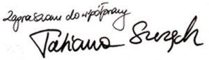 Stylistka Tatiana Szczęch - podpis