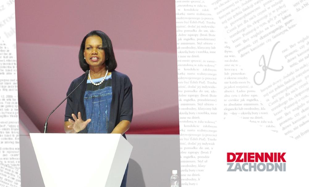 Jak cię widzą, tak cię piszą… Condoleezza Rice