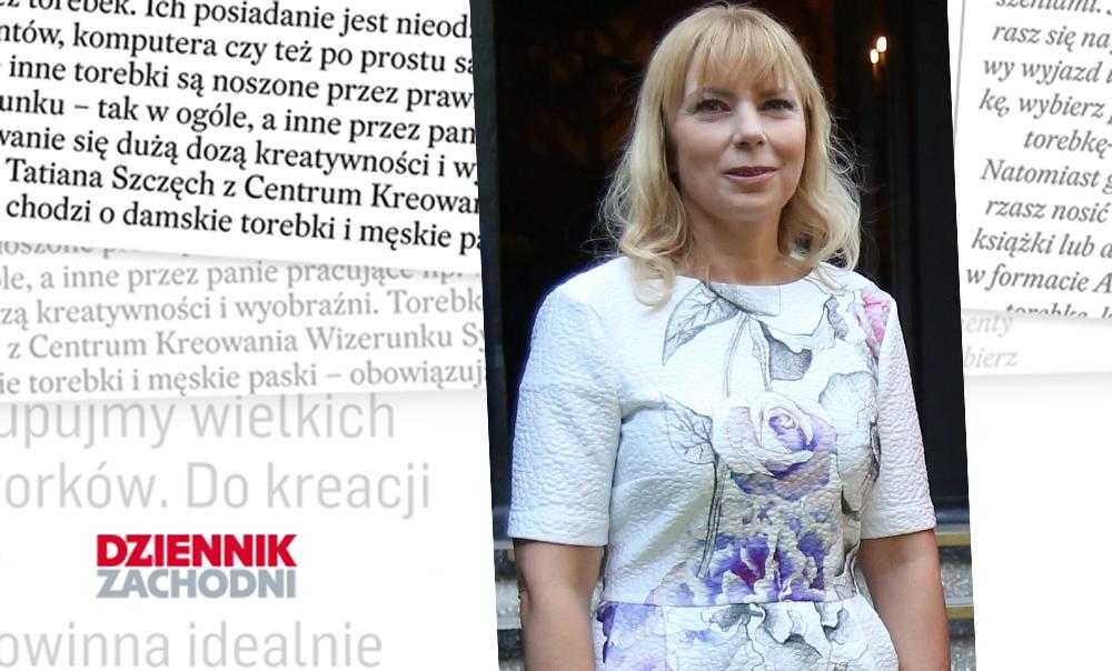 Jak cię widzą, tak cię piszą… Elżbieta Bieńkowska