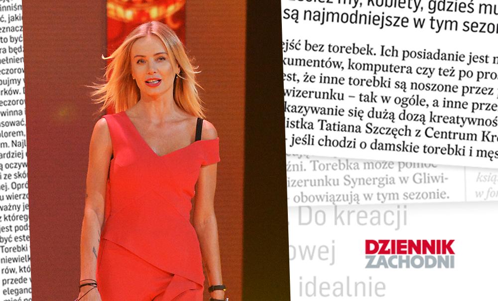 Jak cię widzą, tak cię piszą… Agnieszka Woźniak-Starak