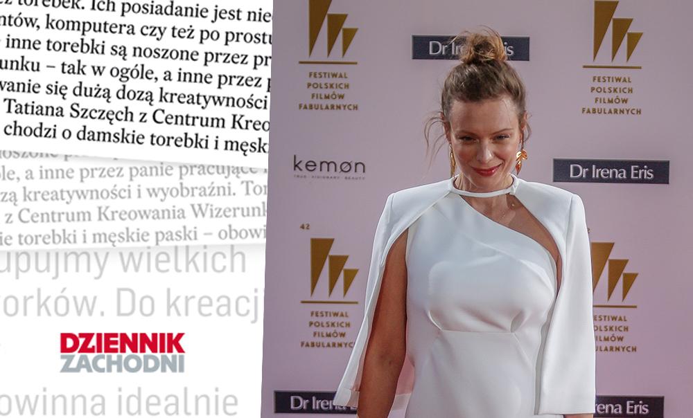 Jak cię widzą, tak cię piszą… Magdalena Boczarska