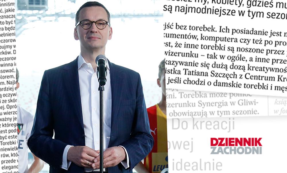 (Polski) Jak cię widzą, tak cię piszą… Mateusz Morawiecki