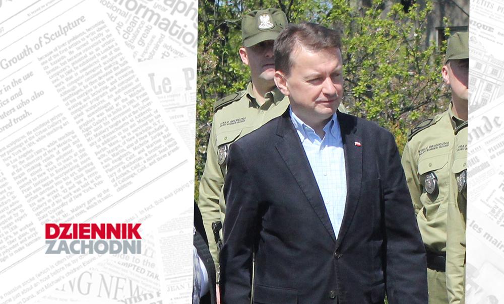 (Polski) Jak cię widzą, tak cię piszą… Mariusz Błaszczak