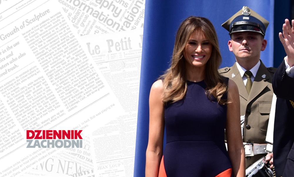 (Polski) Jak cię widzą, tak cię piszą… Melania Trump